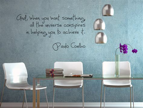 paulo coelho wall decal home office decor a interior design