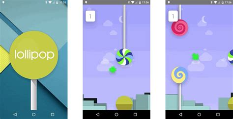 nexus 7 easter egg flappy droid easter egg android lollipop techmaniacs
