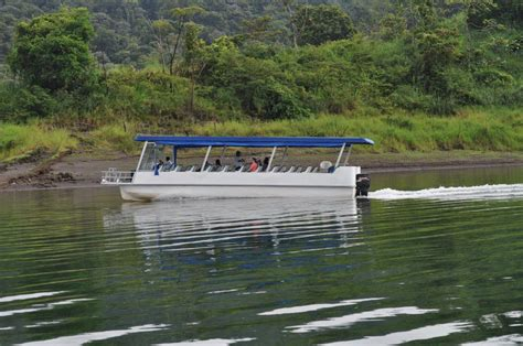 lake boat trail of lights boat tour arenal lake