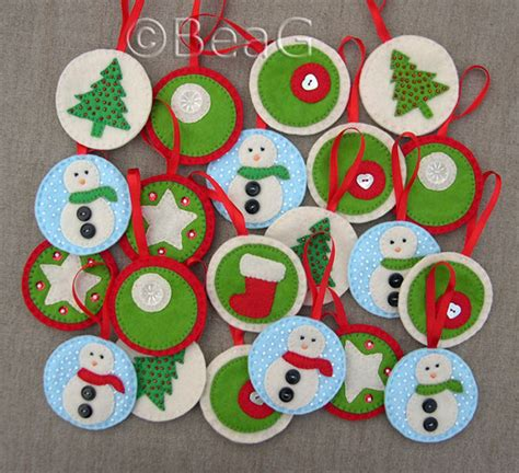 cute printable christmas decorations 30 cute handmade christmas ornaments decoration ideas 2014