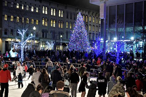 tree lighting grand rapids quot tree lighting in grand rapids quot by rothwell the