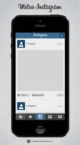 17 instagram psd template images instagram post template