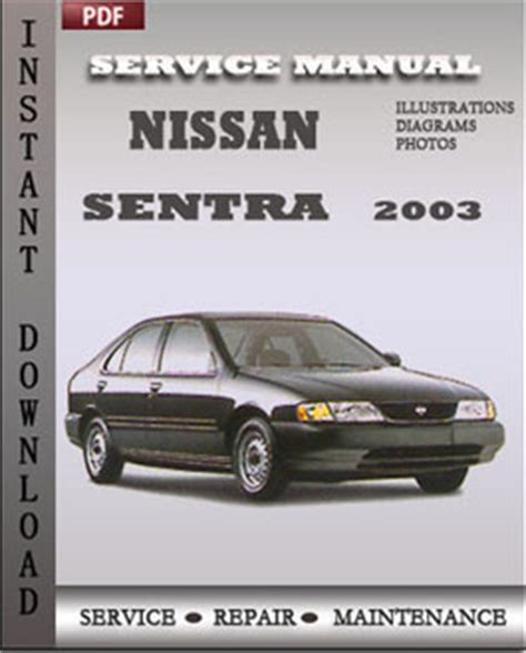 old car manuals online 2003 nissan sentra on board diagnostic system nissan march 2003 owners manual
