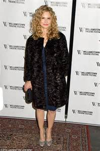 Kyra sedgwick looks radiant as she attends theatre benefit in new york