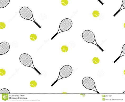 pattern matching exle racket tennis raquet and ball seamless pattern 1 stock vector
