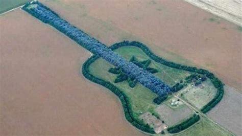 imagenes asombrosas google earth lugares m 225 s asombrosos en google map el bosque guitarra
