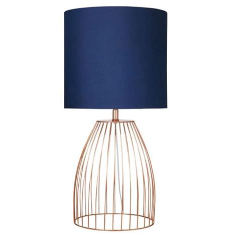 Table Lamps For Bedroom Jagger Table Lamp Navy Copper Lamps Pinterest