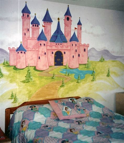 Princess Castle Headboard by Princess Castle Headboard Houseart Custom Painting