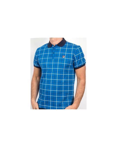 Bj 2234 Blue Gray Blouse fila vintage ace polo shirt