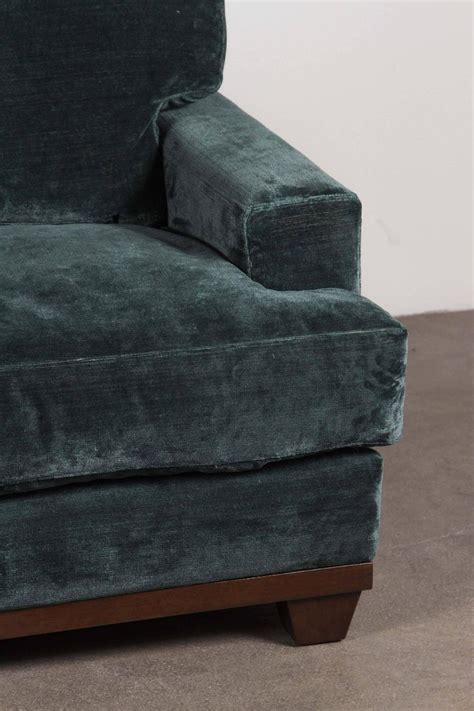 Teal Couches For Sale Teal Velvet Sofa For Sale At 1stdibs