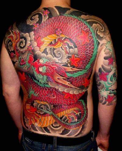 imagenes tatoo japones tatuaje japones dragon