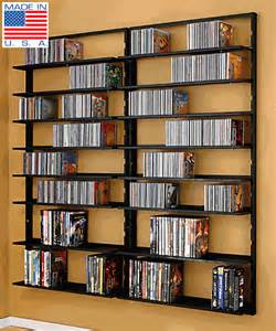 Dvd Bookshelves Dvd Shelves Avm Omni Wall Mount Cd Dvd Rack