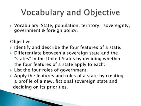 government and the state section 1 section 1 why government section 2 the sovereign state