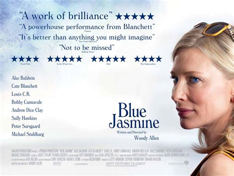 blue jasmine movies review blue jasmine electric shadows