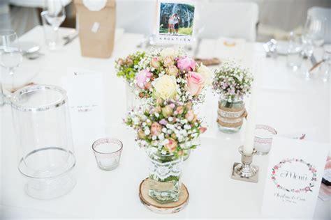 Tischschmuck Hochzeit Vintage by Liebevolle Diy Gartenhochzeit Mit Inspirationen The