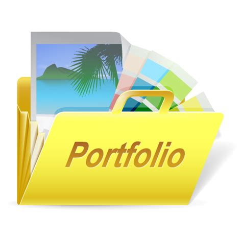 icon design portfolio design document case drawing figure folder