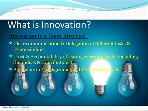 progress the 7 responsibilities of the innovation leader books innovation at work slides