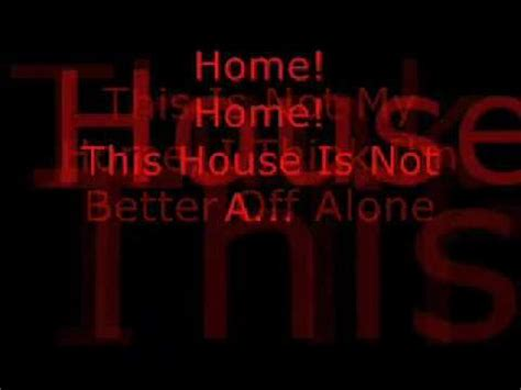 three days grace home lyrics