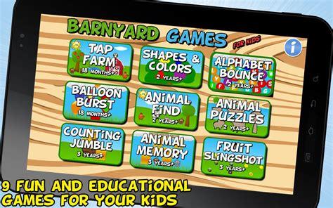 barnyard games  kids  android apps  google play