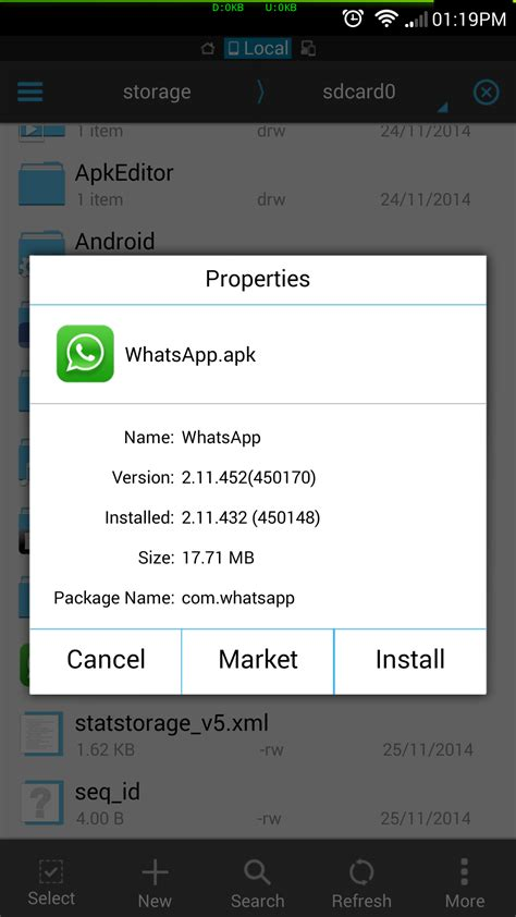 update android version whatsapp new update for blue ticks how to do it manually for now