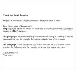 thank you email template 6 free for pdf