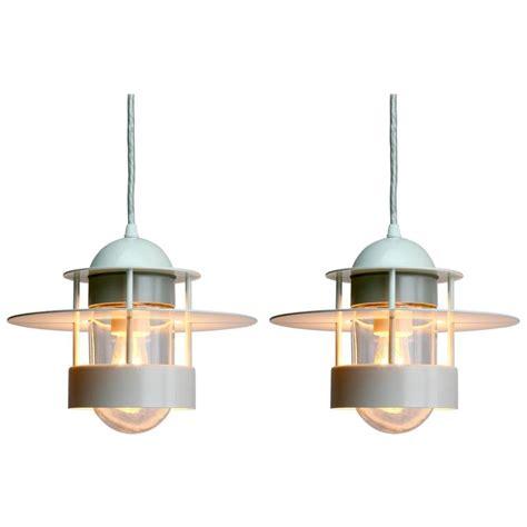 Louis Poulsen Pendant Light Pair Of Albertslund Industrial Style Pendant Lights For Louis Poulsen At 1stdibs