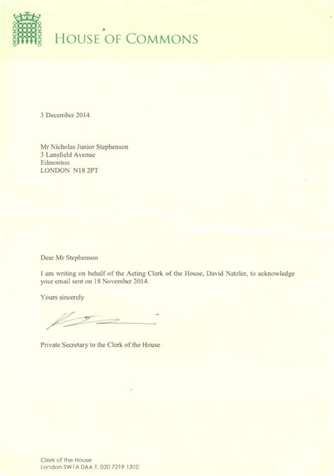 clerk of the house correspondence 1 the official illuminati