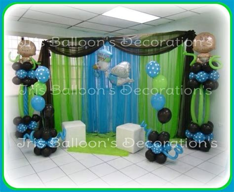 Decoraciones Para Baby Shower De Niño by Baby Shower De Ni 241 O Decoraciones Con Globos