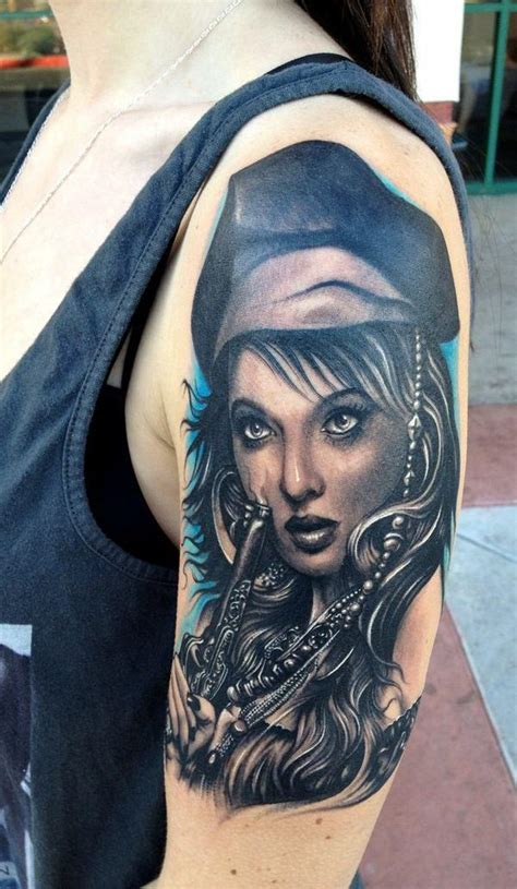 pirate face tattoo 16 amazing pirate images designs and pictures