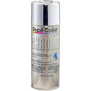 Krylon Clear Spray Paint - duplicolor instant chrome 11 oz aerosol spray paint
