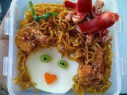 membuat kue ulang tahun dari mie mie goreng sosis resep kuliner indonesia dan dunia