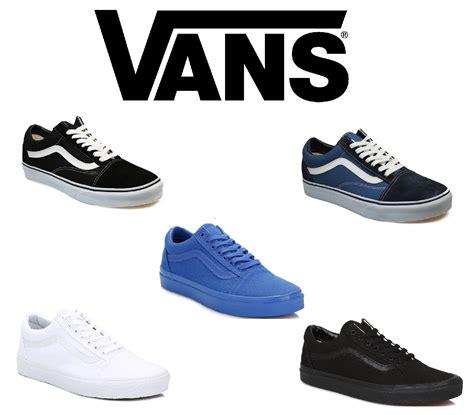 Vans Oldschol For Unisex Vans School Unisex Trainers Various Colours Sizes