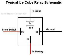 cube iso relay wire diagrams easy simple detail baja designs electric relay wiring diagram