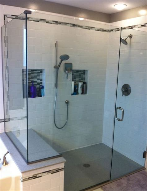 built in shower save valuable space in your bathroom using shower caddies