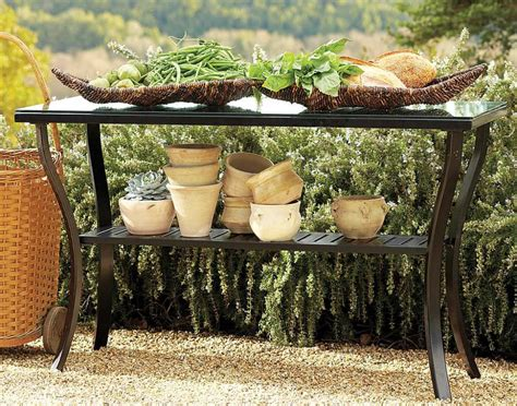 outdoor wrought iron console table outdoor console wrought iron table tedx designs the