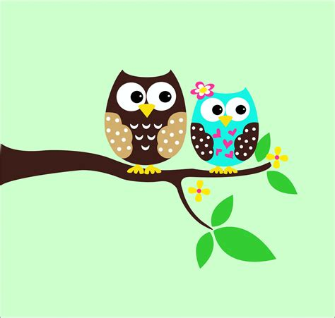 owl wall decals childrens wall decals tree decal by lucylews