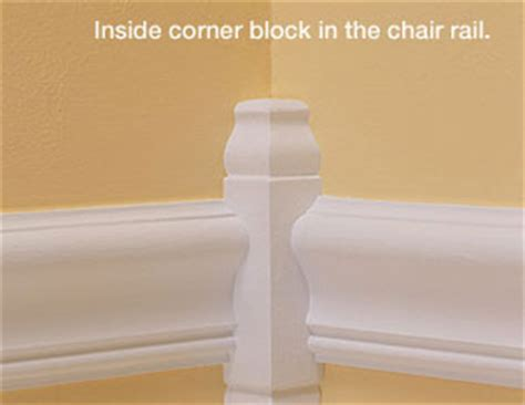 chair rail corners install decorative moulding