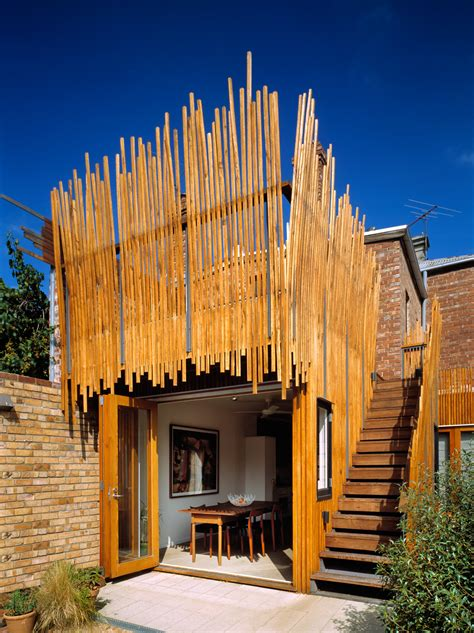 stick house phooey architects stick house melbourne victoria