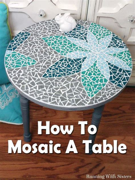 top diy projects 25 best ideas about mosaic table tops on