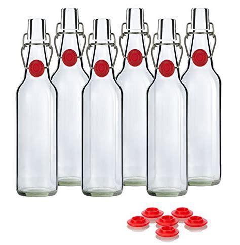 swing top grolsch swing top grolsch glass bottles 16oz clear for brewing