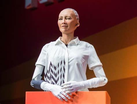 elon musk citizenship robot mocks elon musk as it becomes first machine to