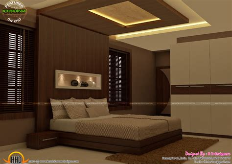 master bedrooms interior decor kerala home design