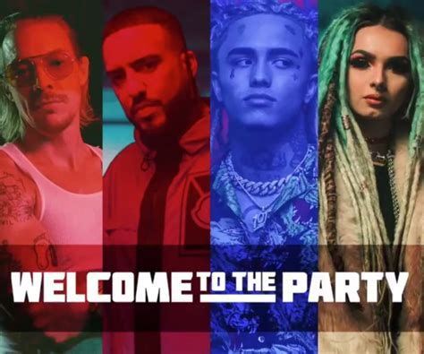 lil pump welcome to the party lyrics diplo french montana lil pump and zhavia release