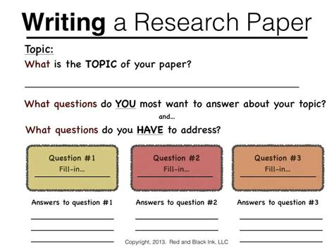 how to write a research paper for middle school writing a research paper eng 101 outlines