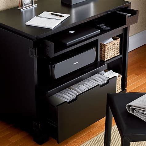Crate And Barrel Computer Desk 17 Best Images About Compact Office On Pinterest Nooks Crate And Barrel And Offices
