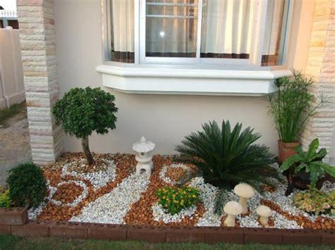 Small Pebble Garden Ideas Steingarten Kreativ Gestalten 30 Bilder Und Individuelle Gartenideen