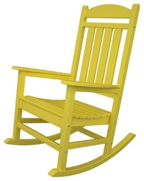 Modern Outdoor Rocking Chair by Recycled Earth Friendly Outdoor Patio Executive Rocking