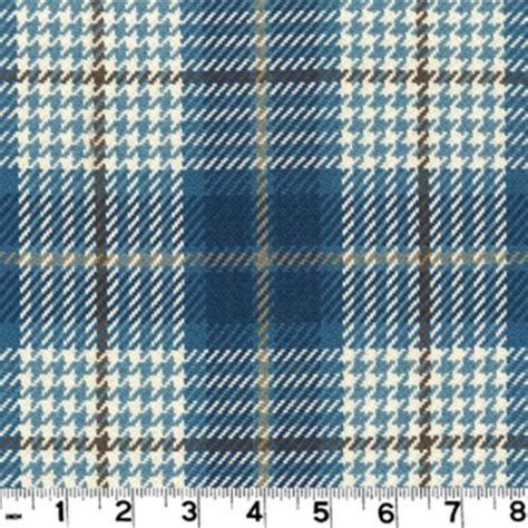 Plaid Automotive Upholstery Fabric by Roth Tompkins Plaid Drapery Upholstery Fabric Brennan