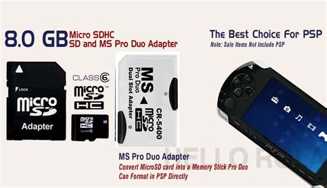 Memory Card Psp 16gb micro sd card psp 16gb memory stick ms pro duo adpt for sony psp