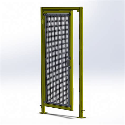 door swings open doors and gates modern machine guarding